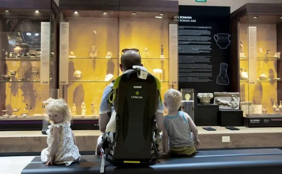 amphithéâtre romain que faire à Cagliari avec des enfants musée archéologique