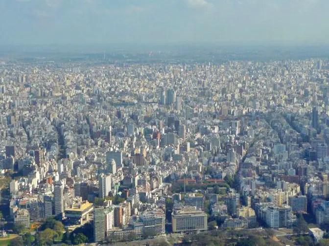 roadtrip argentine buenos aires vue de haut