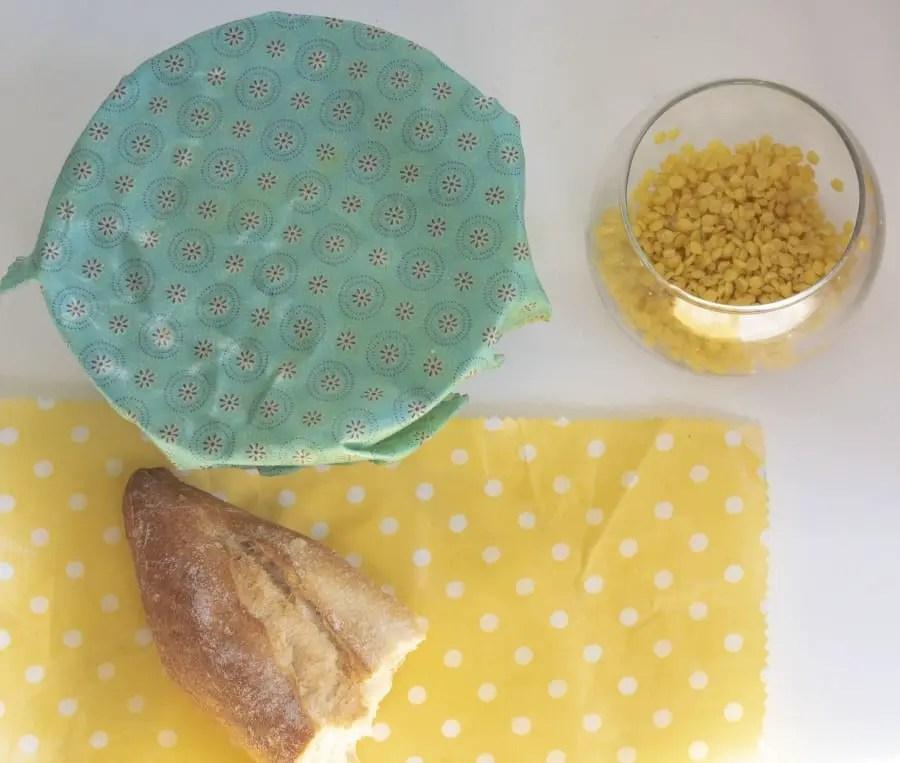Bee wrap diy emballage toile cire