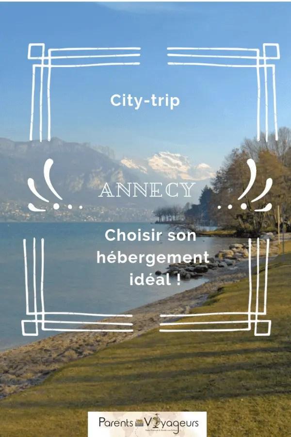 hérbegement sur Annecy