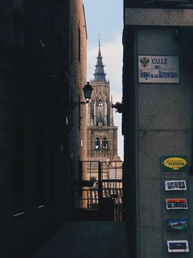 visiter Tolède vue sur la Cathédrale