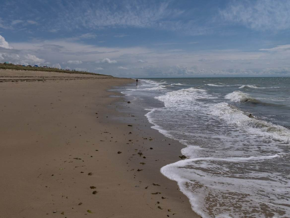 plage de gouaille sur mer