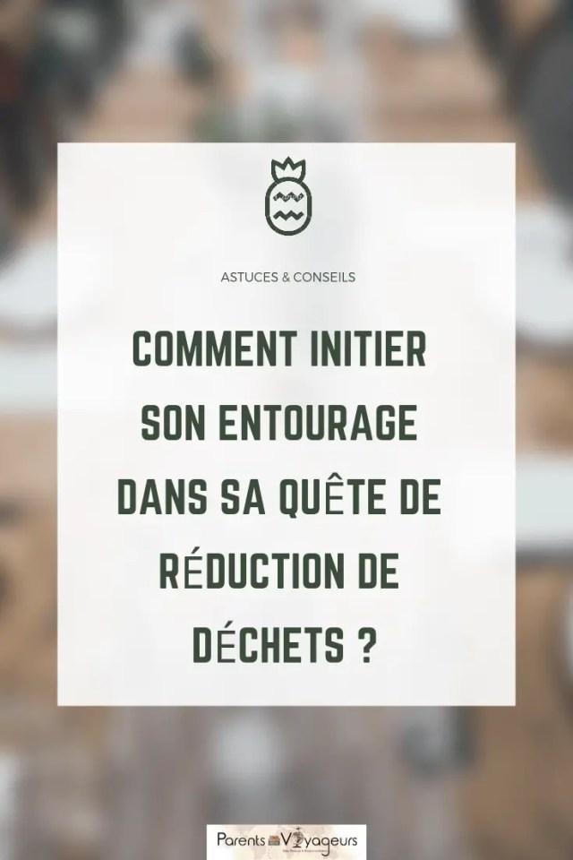 RÉDUCTION DE  DÉCHET