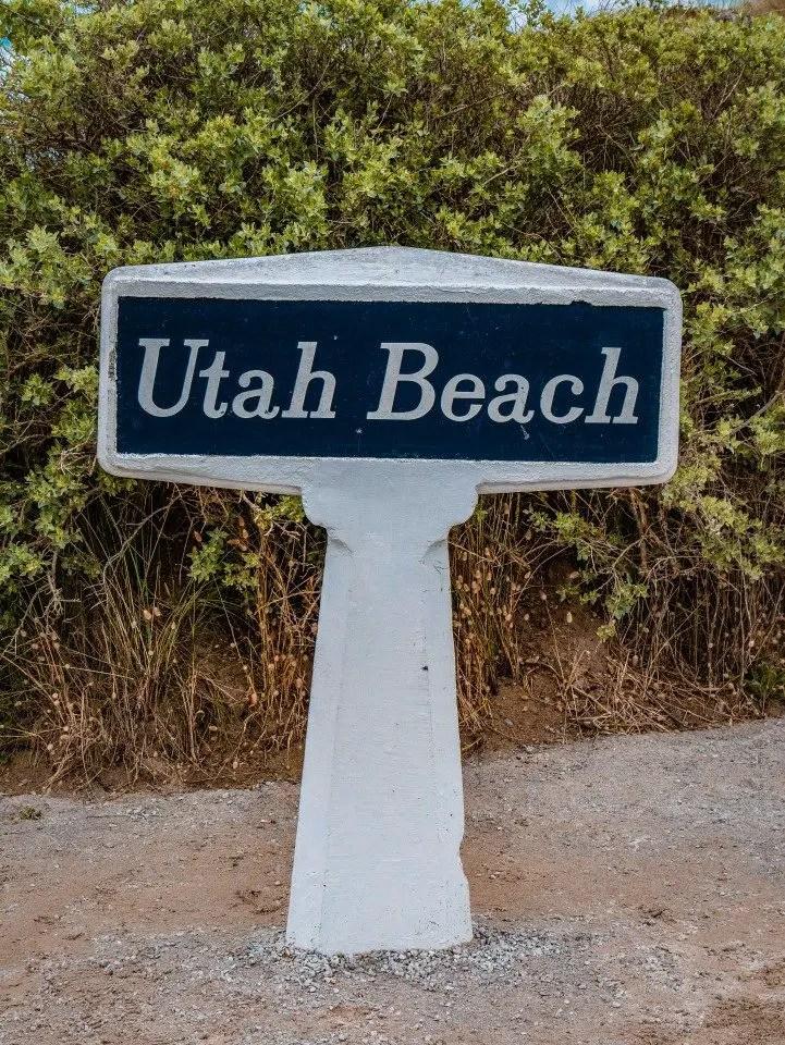 utah beach que faire dans la manche avec des enfants