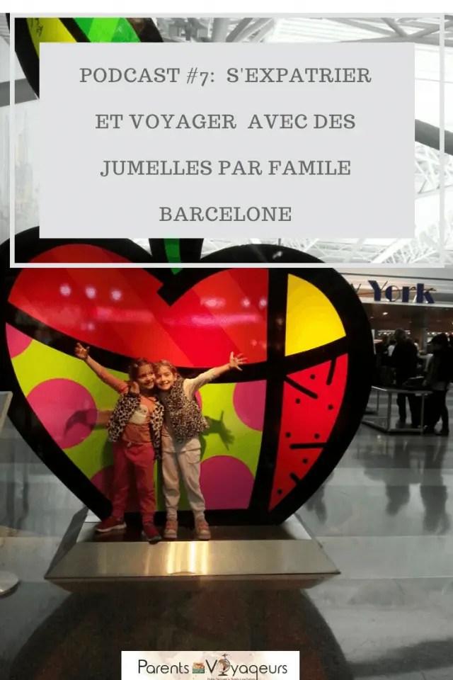 Podcast #7: S'expatrier et voyager avec des jumelles - Interview d'Isabelle