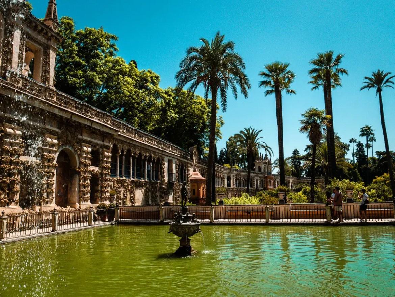 visiter l'Alcazar de Séville avec des enfants, infos pratiques et conseils.