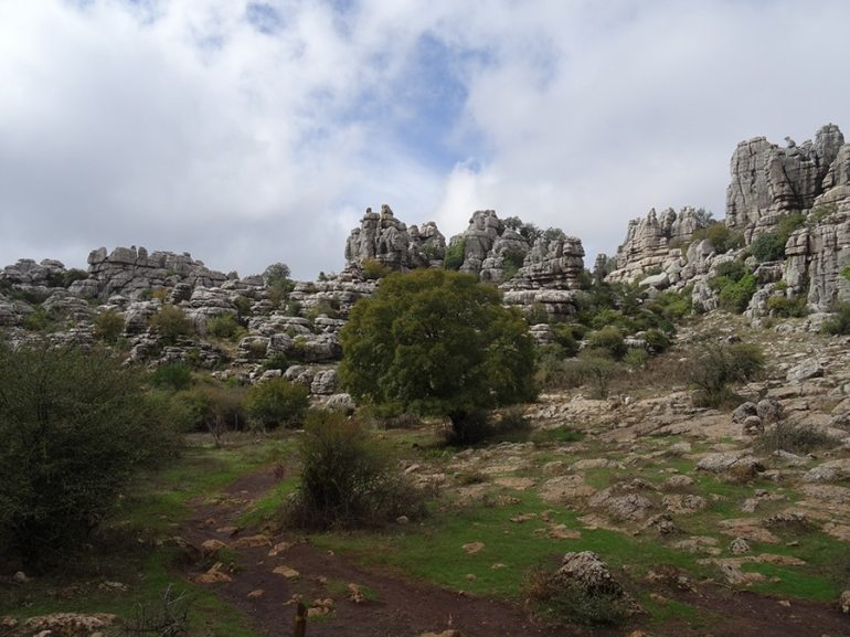 Parc naturel du Torcal de Antequera espagne en famille