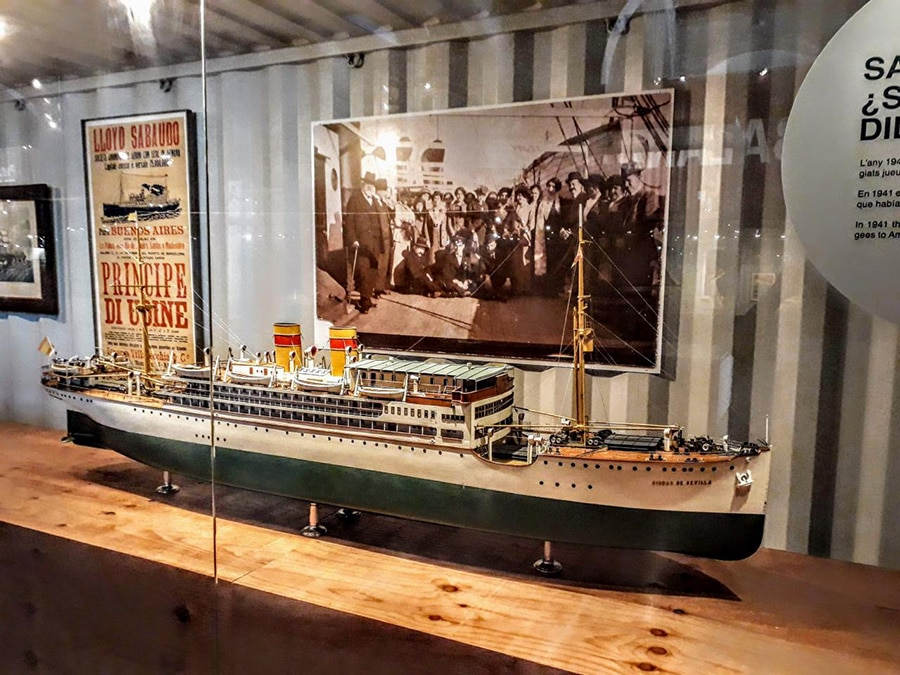 espagne en famille musee maritime barcelone