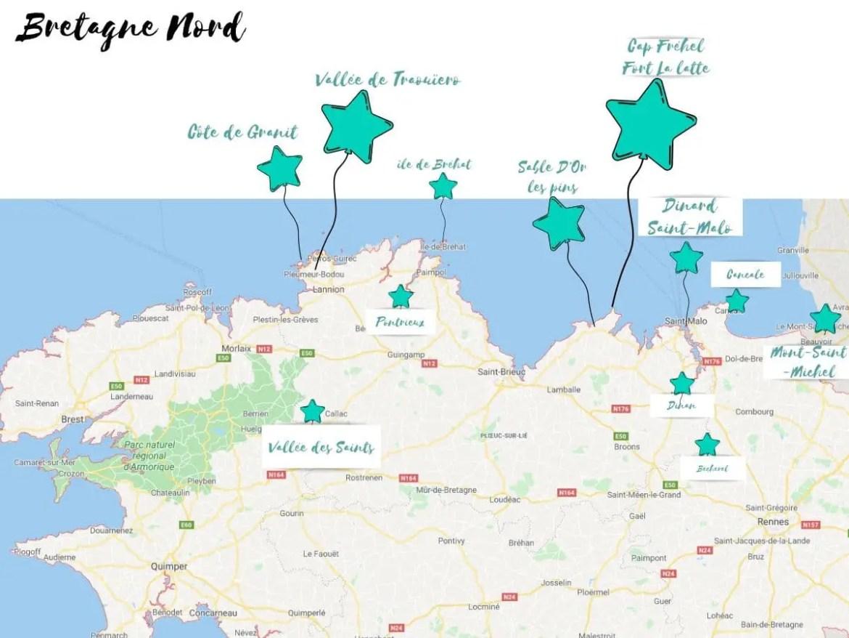 Où Partir en vacances en Bretagne Nord avec les enfants.