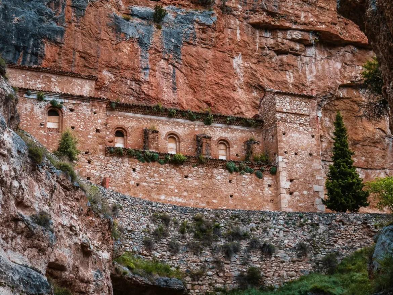 monastère de la virent jaraba espagne en famille