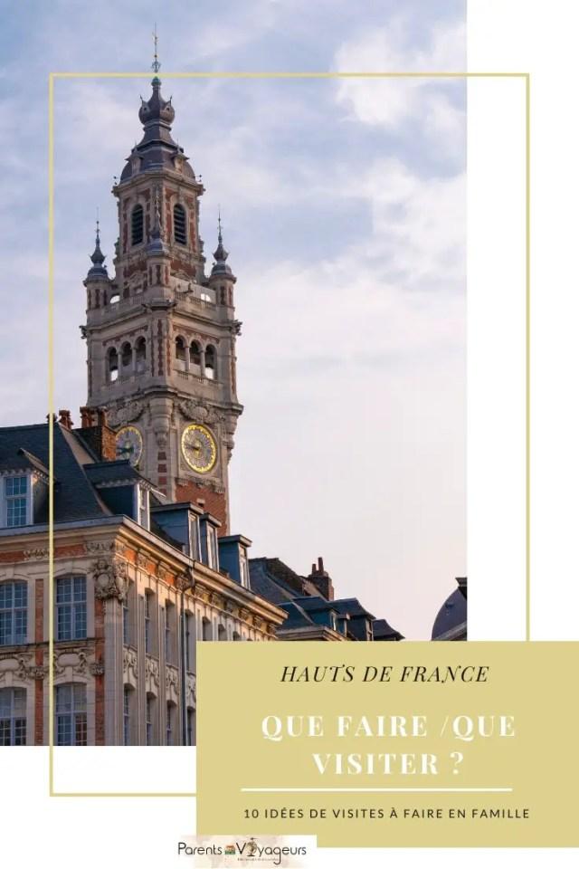 endroits visiter dans les Hauts de France