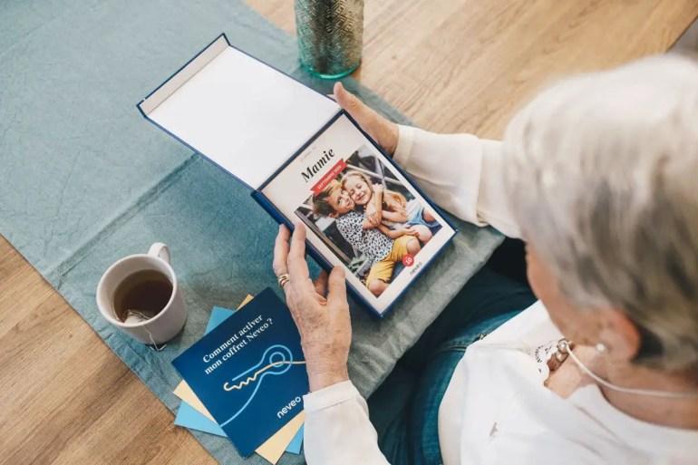 idée cadeau pour les grands-parents garder le lien avec sa famille