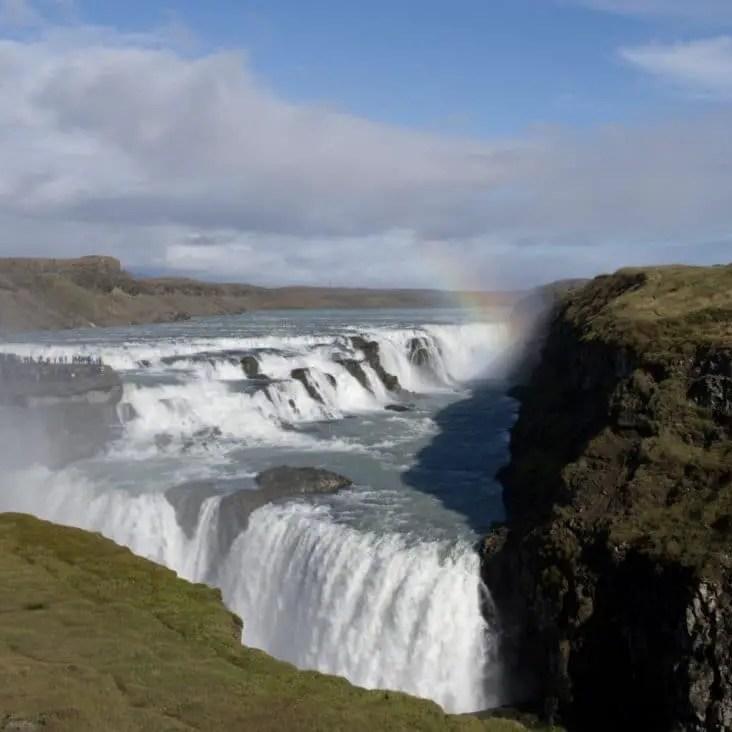 Islande avec enfants - Gullfoss