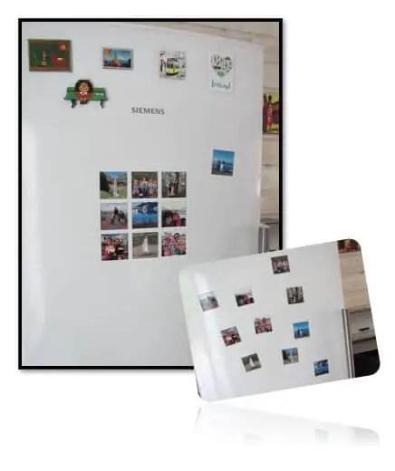 Que faire de vos photos de vacances - Magnets montage