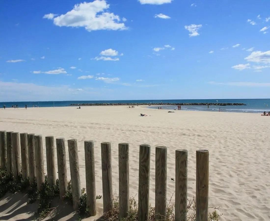 CArnon plage du Languedoc Roussillon