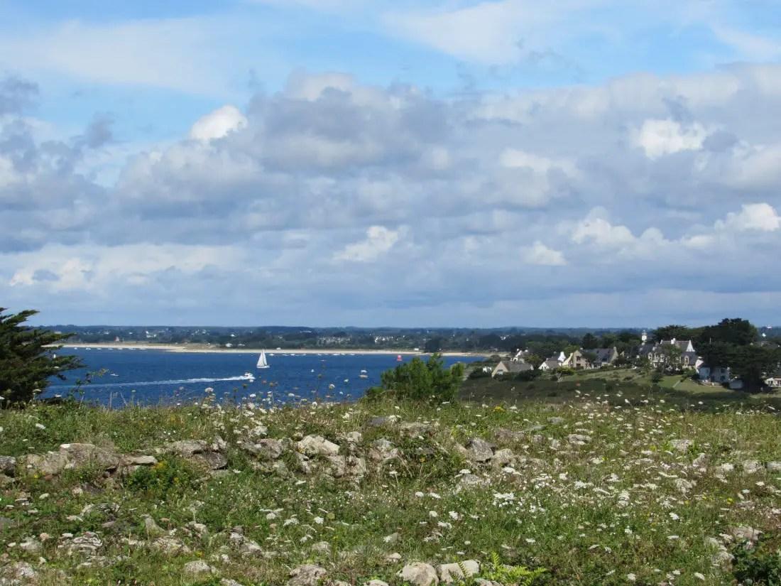 Presqu'île de Rhuys en famille - Cairn de Petit Mont