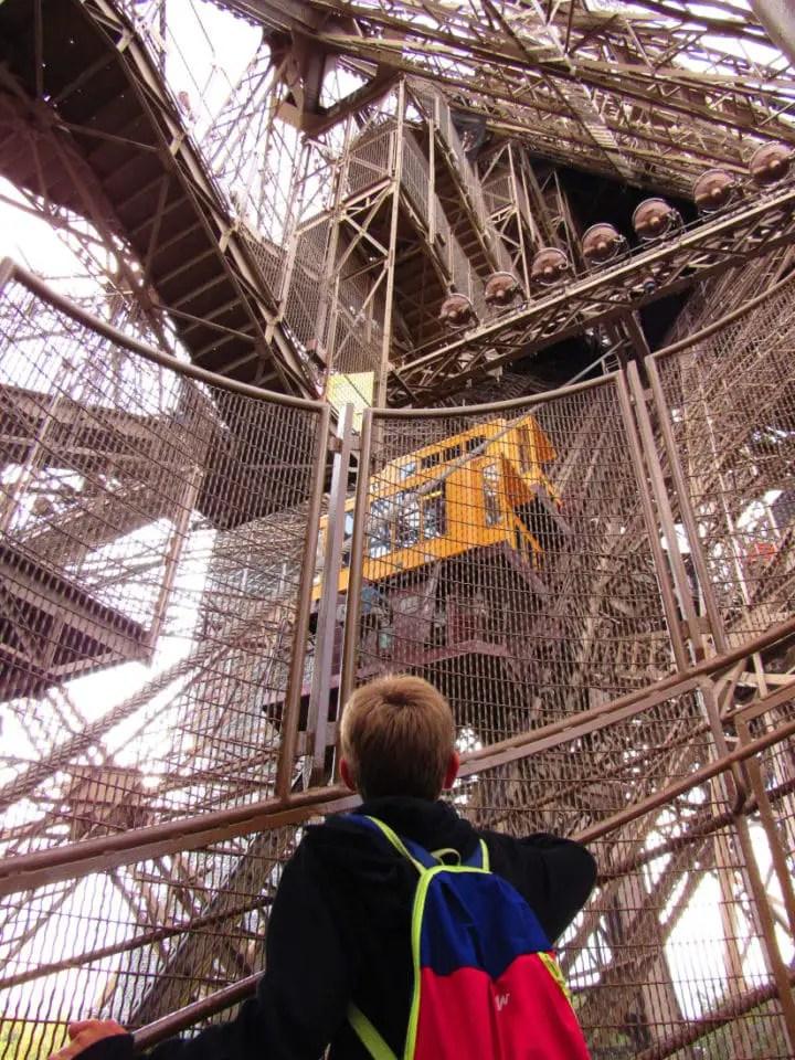 Paris en famille - Tour Eiffel
