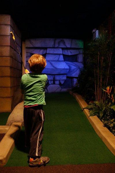 The Lost City Golf, Nottingham