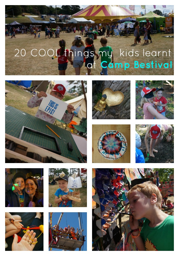 20 cool things my kids learnt and loved at Camp Bestival