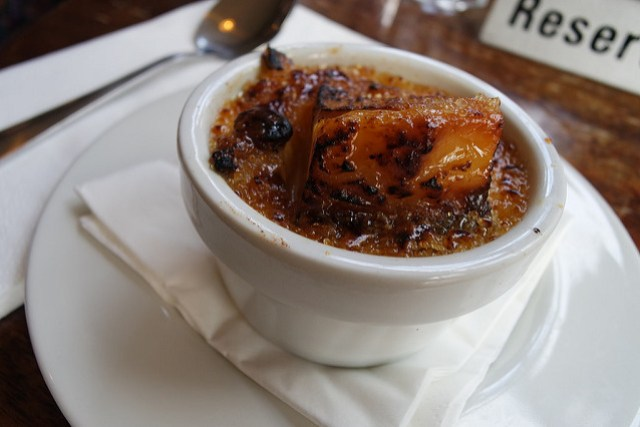 Best bread and butter pudding in London! The English Restaurant.