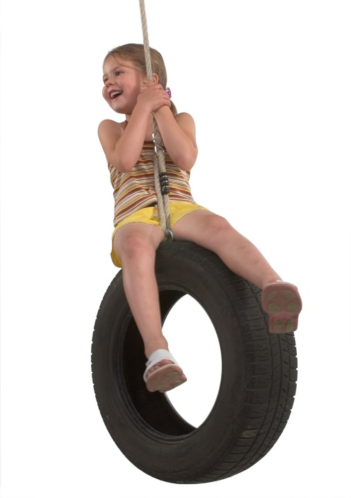 car tyre swing