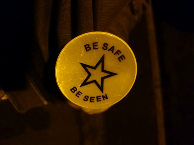 be safe be seen badge