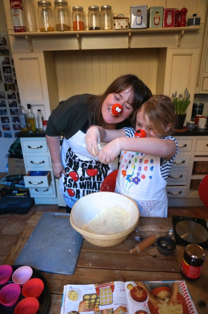 Red Nose Day Jammy Dodgers or Jam Tarts Recipe-4