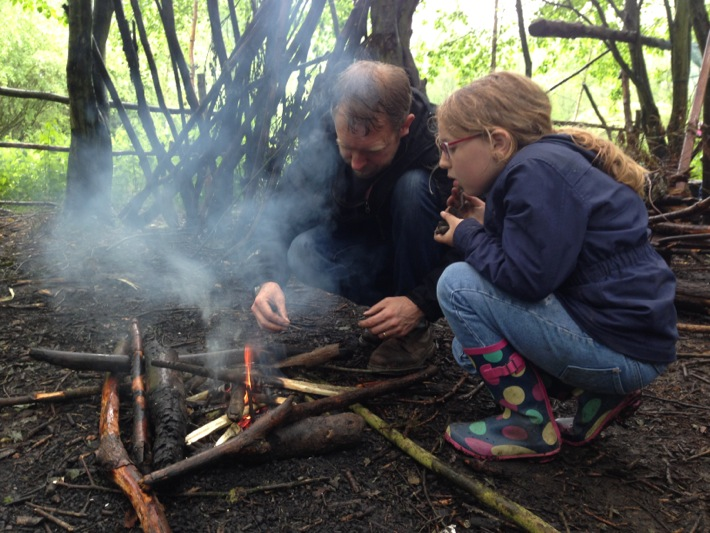 Conkers Centre, National Forest, Bushcraft and Barefoot Trail - 01