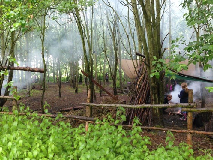 Conkers Centre, National Forest, Bushcraft and Barefoot Trail - 04