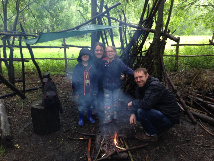Conkers Centre, National Forest, Bushcraft and Barefoot Trail - 06