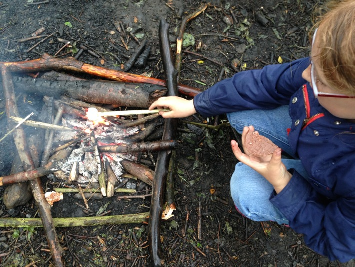 Conkers Centre, National Forest, Bushcraft and Barefoot Trail - 09