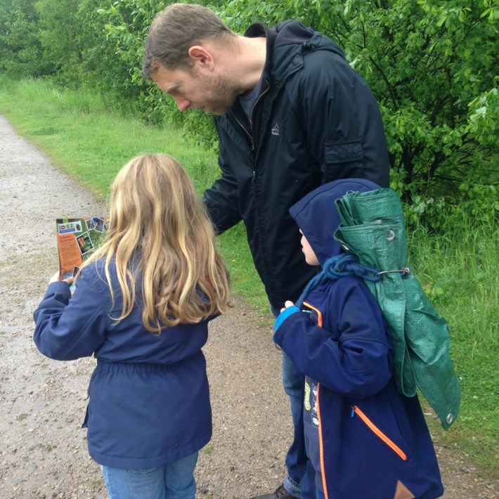 Conkers Centre, The National Forest, Bushcraft and Barefoot Trail - 1