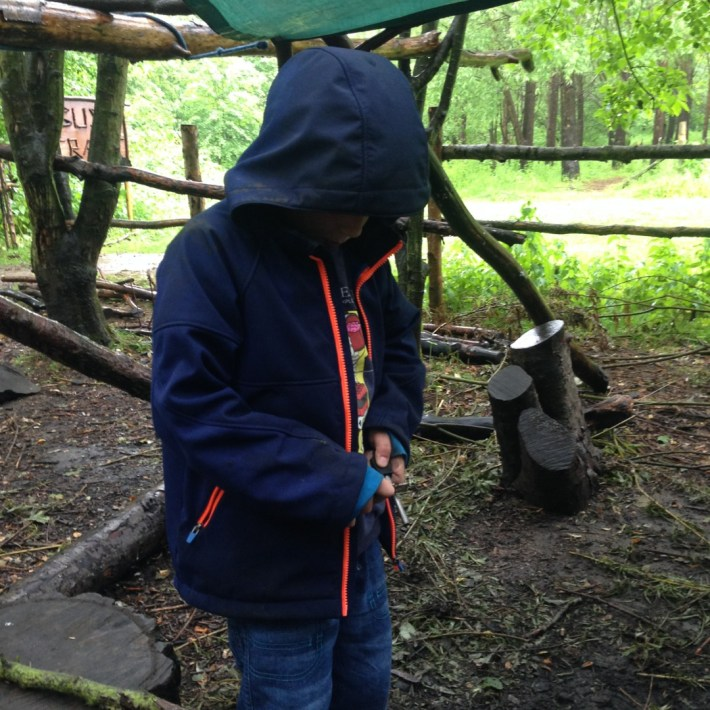 Conkers Centre, The National Forest, Bushcraft and Barefoot Trail - 3