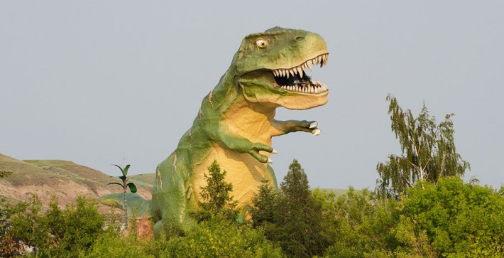 Largest Dinosaur in the World Drumheller