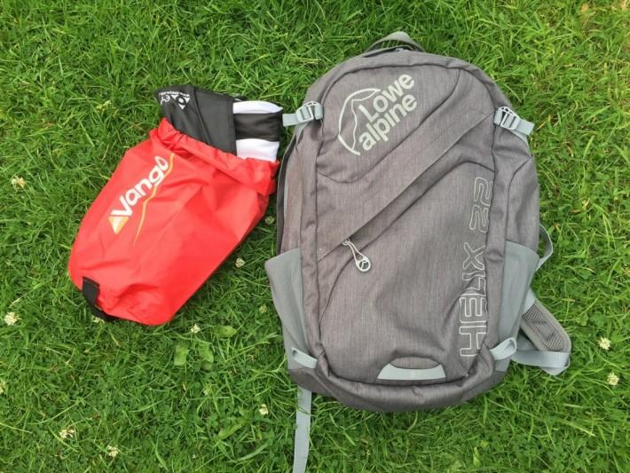 Use a Stuff sack to move kids' essentials between rucksack, handbag, beach bag