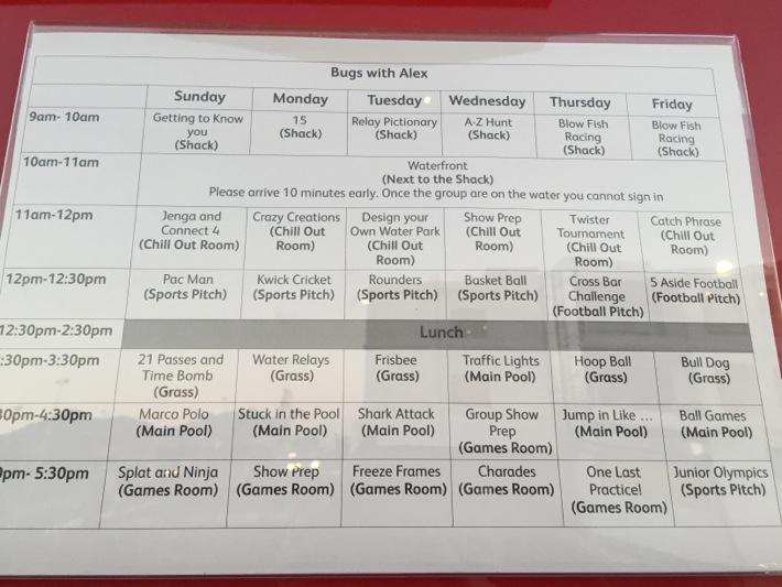 mark warner Junior Club schedule