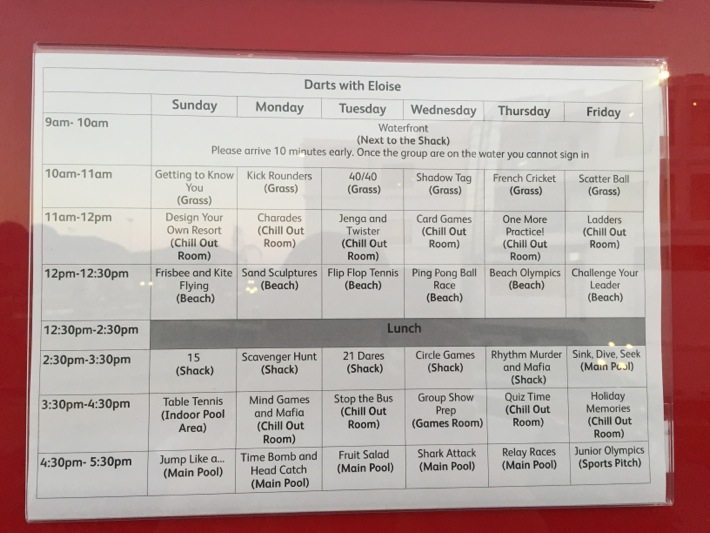 mark warner Junior Club schedule