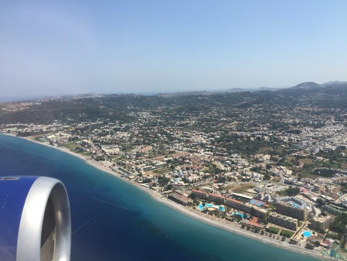 landing in rhodes, Mark warner levante beach resort