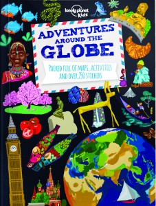 adventures-around-the-globe Lonely Planet Kids' Travel books