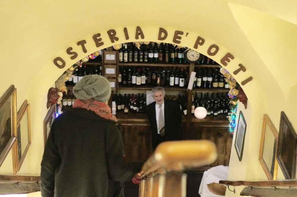 Osteria De'Poeti, Bologna, as eaten at by Brad Pitt and Angelina Jolie