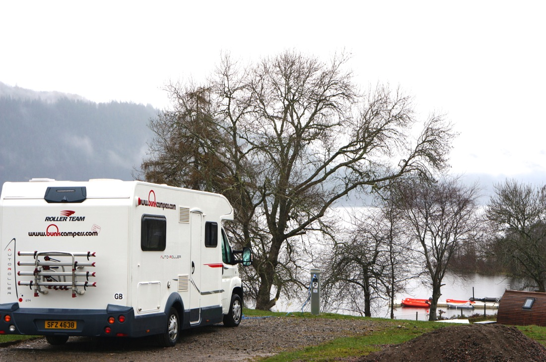 Loch Ness Shores Camping and Caravan Club