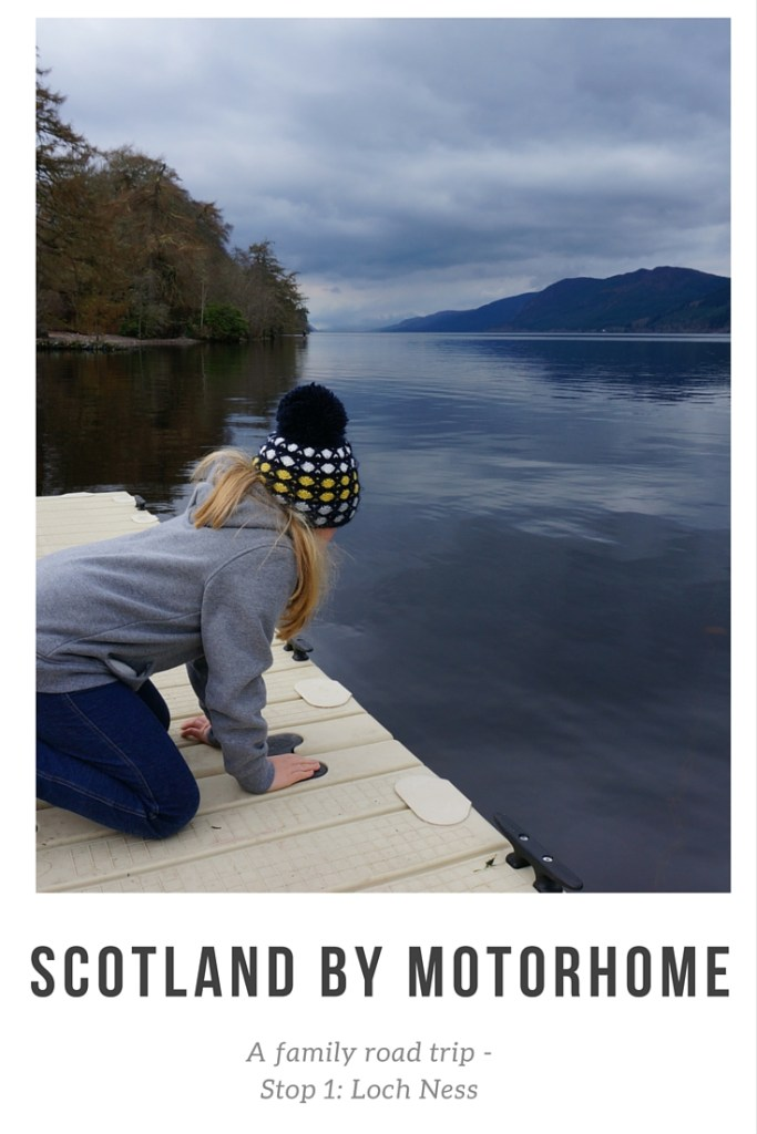 Scottish Motorhome Trip - our first family road trip around the Scottish Highlands and islands began eat Loch Ness Shores, There is so much to do at this wonderful Loch side site.
