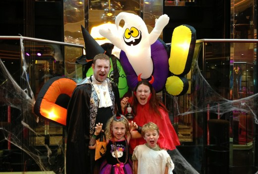 Halloween on Carnival Cruises