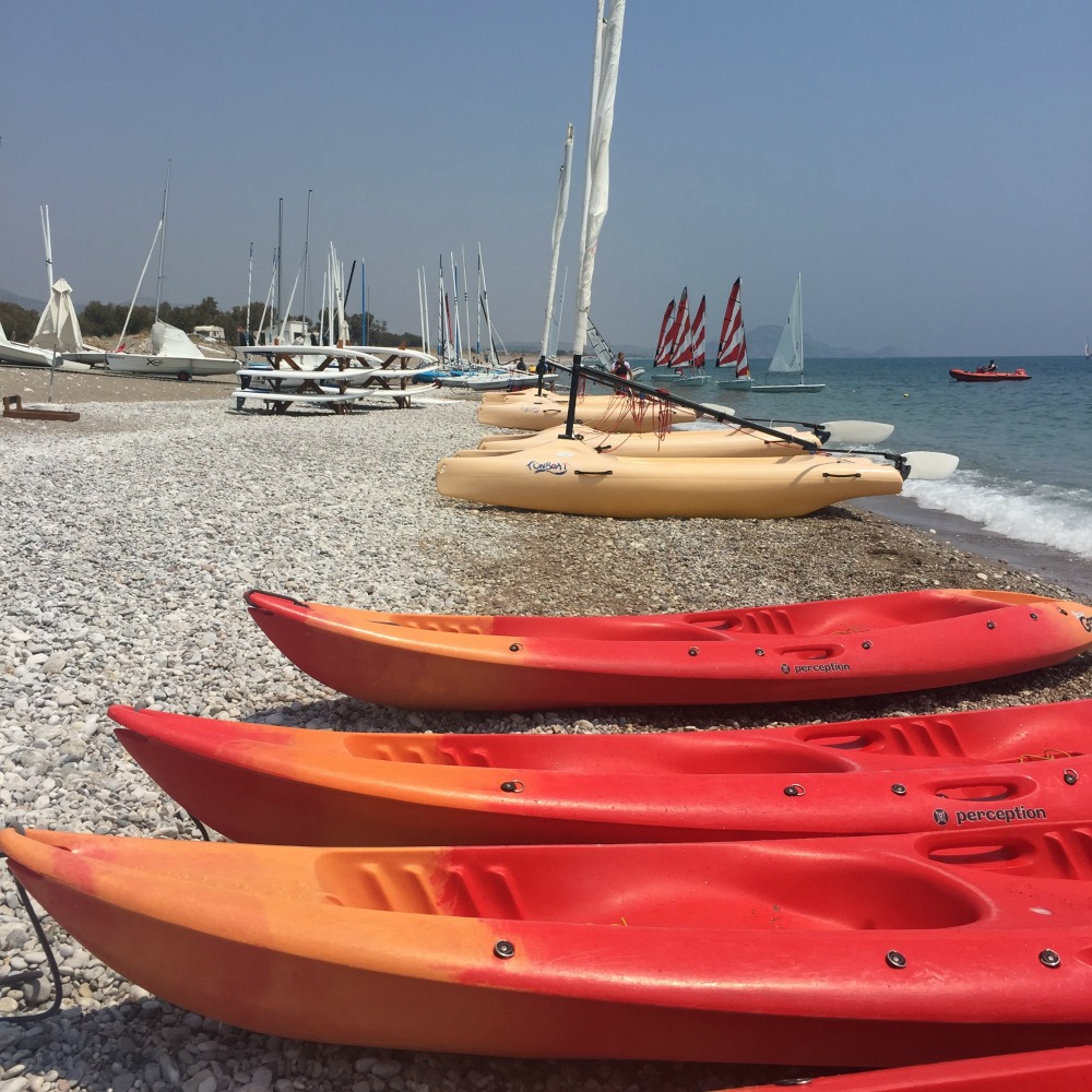 Levante Beach Resort, Mark Warner Holidays - Taking a Kayak Safari