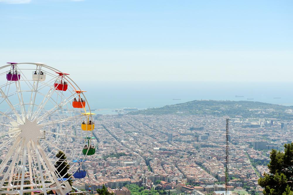 Tibidabo Vintage Theme park Barcelona