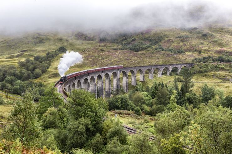 Scotland. Harry Potter, J K Rowling