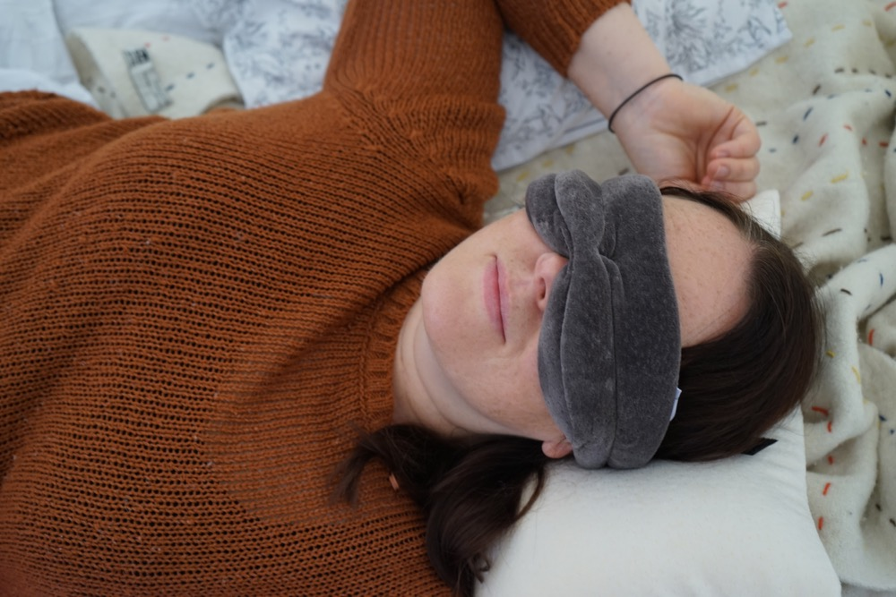 Tempur Travel Sleep Pillow and Sleep Mask