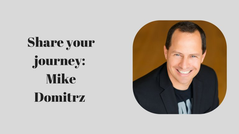 #PIB19 Share your journey: Mike Domitrz