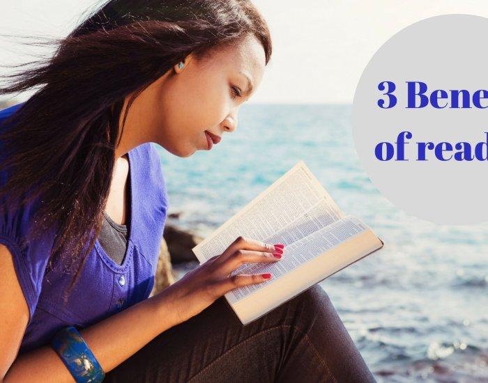 #PIB38 3 Benefits of reading