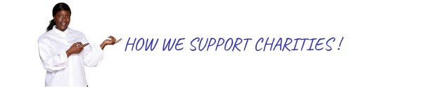 How we support charities
